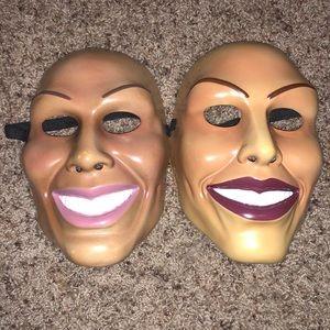 2 purge masks!!